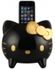 CAV KT1 Hello Kitty  for iPhone/iPod Docking 喇叭(黑/金)